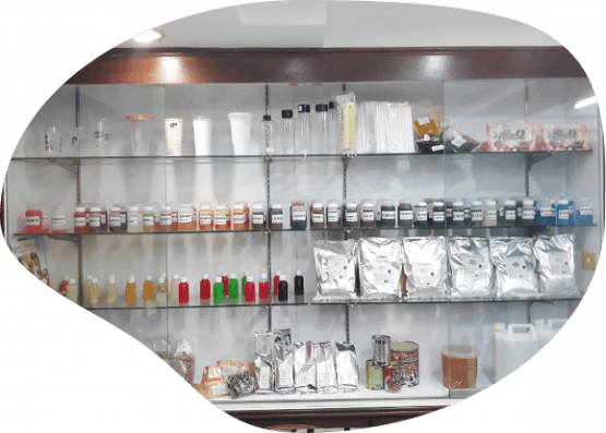 showcase of our bubble tea products