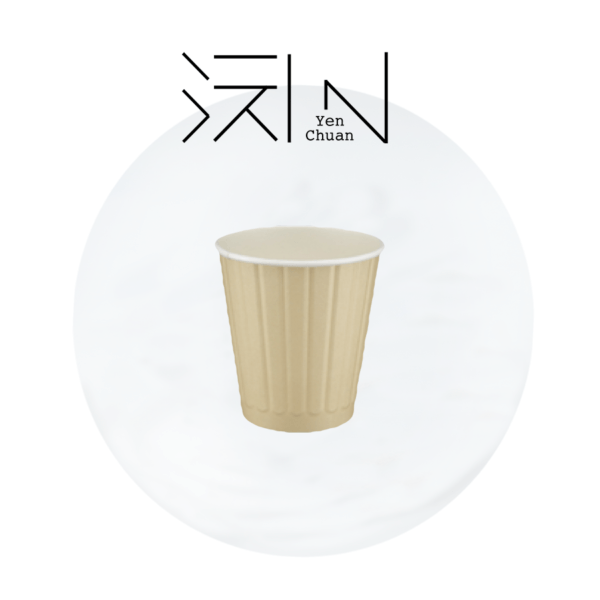 paper coffee cup line pattern