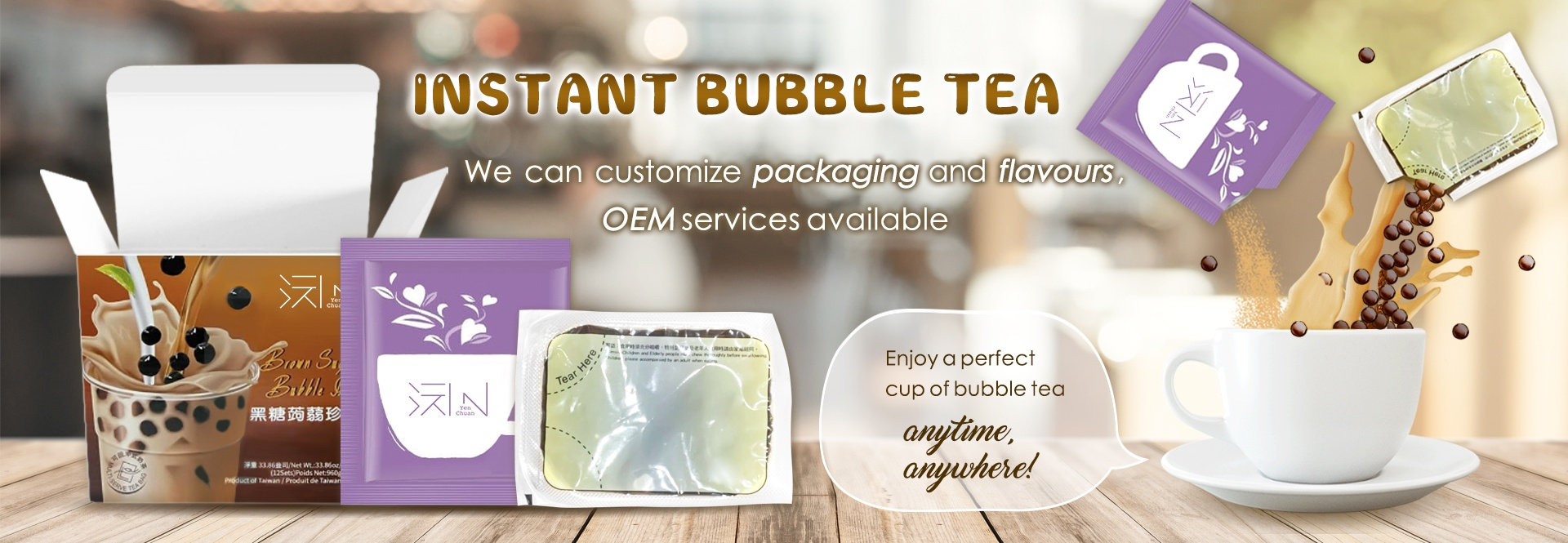 instant bubble tea