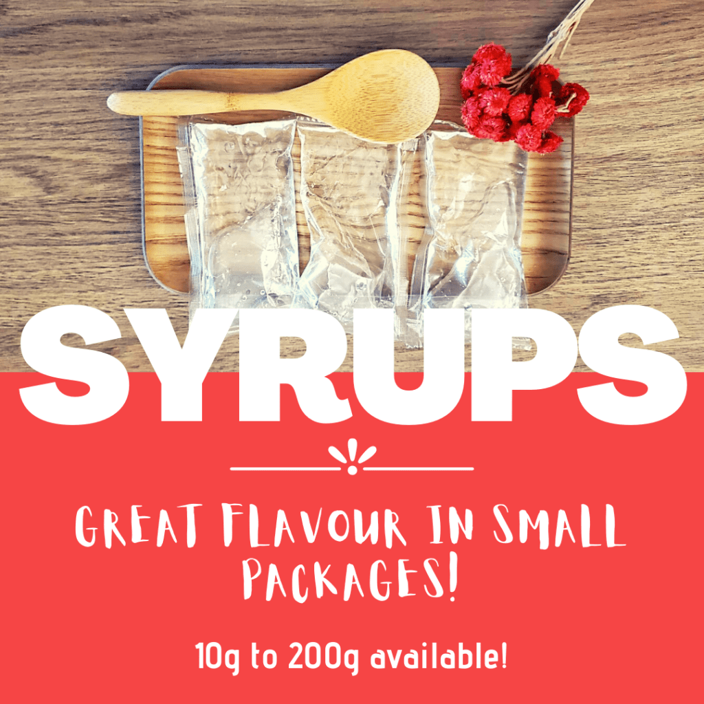 syrup small packaging
