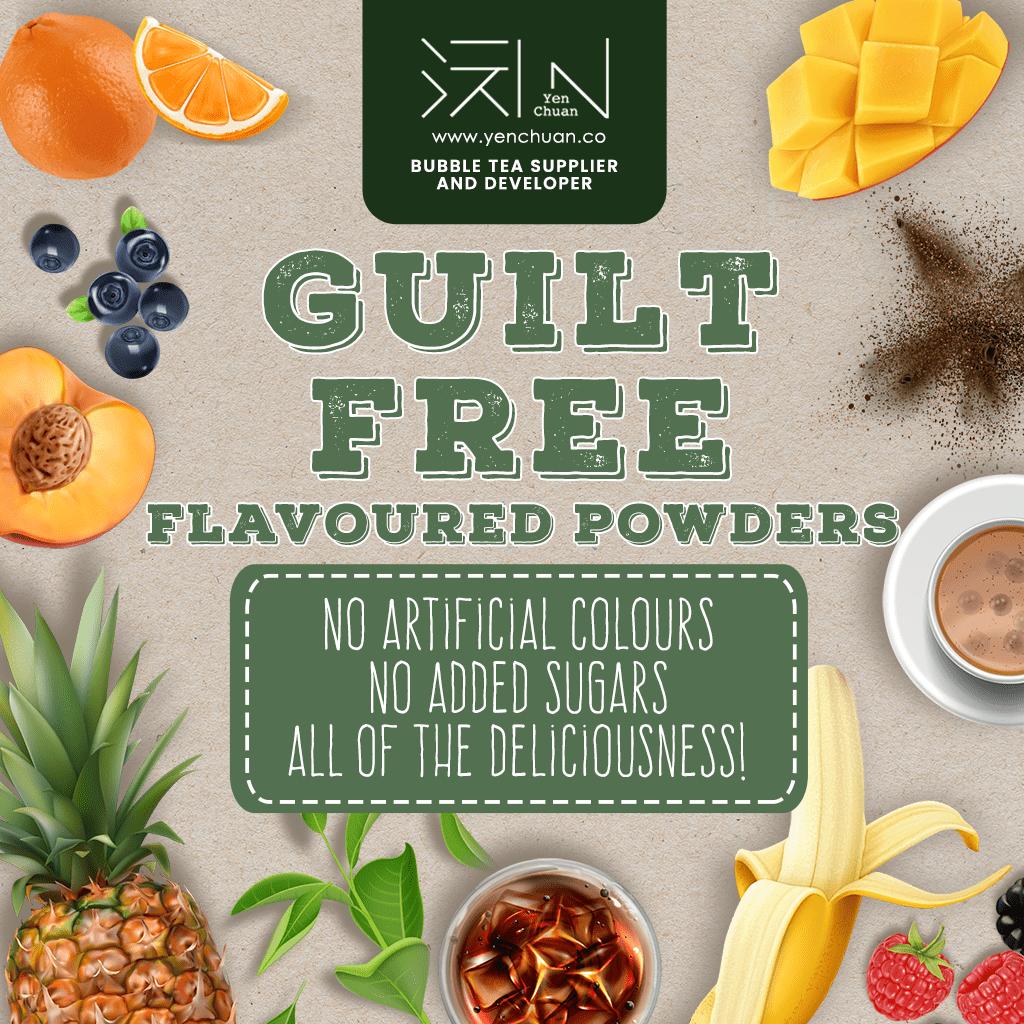 healthy powders advert