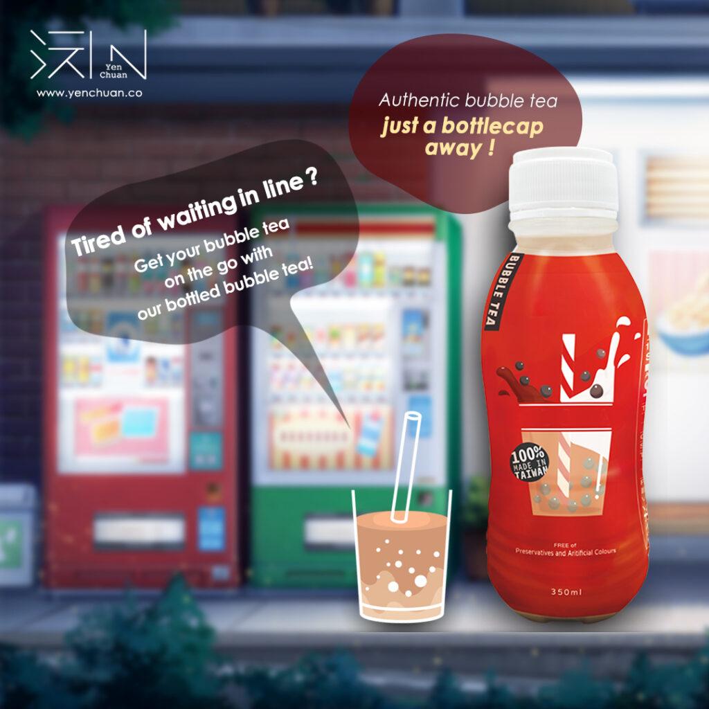 bottled bubble tea advert